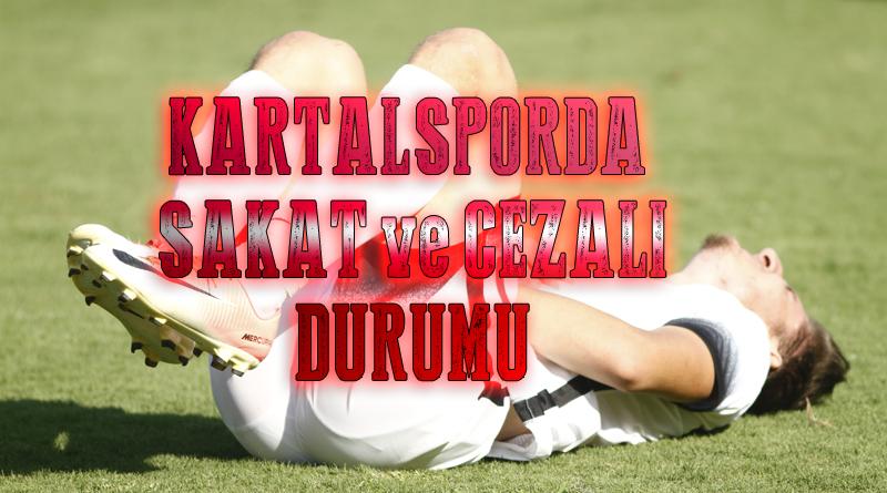 Kartalspor'da Sakat ve Cezalıların Son Durumu!!!