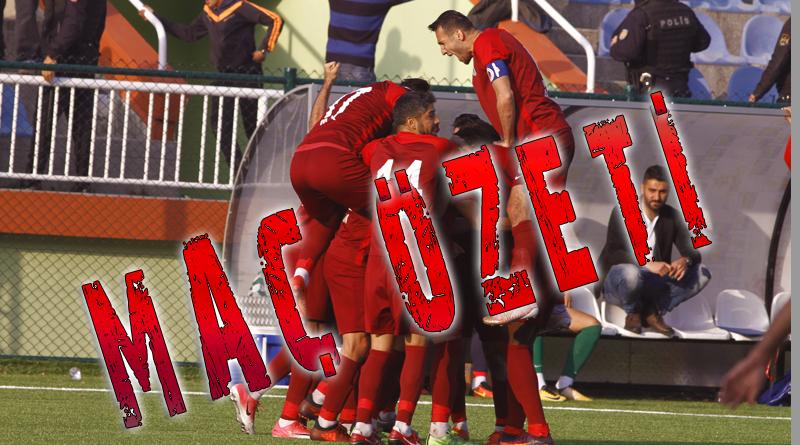 Şile Yıldızspor 1-1 Kartalspor Maç Özeti.