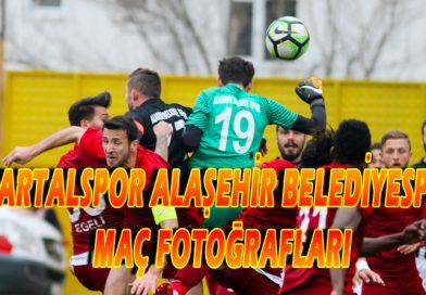 Kartalspor 2-0 Alaşehir Belediyespor Maç Fotoğrafları