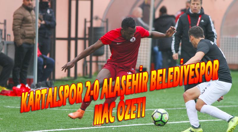 Kartalspor 2-0 Alaşehir Belediyespor Maç Özeti