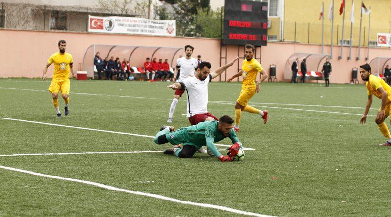 Kartalspor 1-0 Yunusemre Belediyespor Maç Fotoğrafları