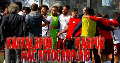 Kartalspor 2-1 İfaspor Maç Fotoğrafları